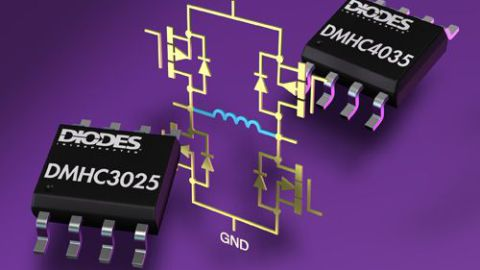 Diodes – MOSFET H-bridge from Diodes Incorporated Reduces Footprint by 50%