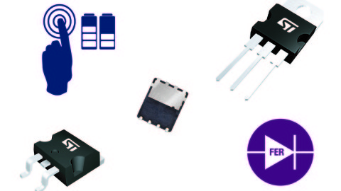 ST- FERD Diodes – High performance rectification without the expense and complexity of going synchronous