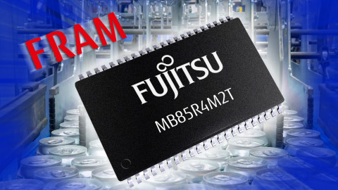 Fujitsu – Parallel 4 Mbit FRAM Product with Pin Compatibility to Low-Power SRAM