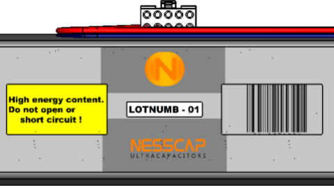 Nesscap customized module
