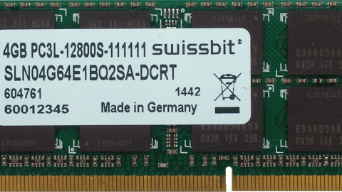 Swissbit SO-DIMM DDR3L