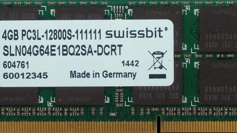 Swissbit SO-DIMM DDR3L