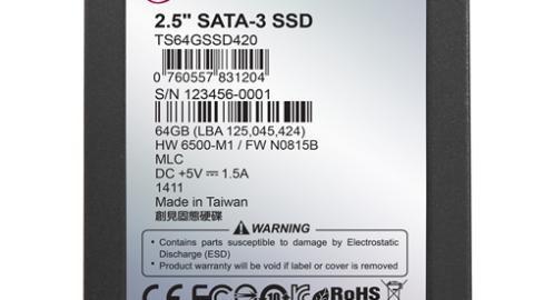 Transcend 2.5″ SATA III SSD