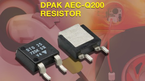 AEC-Q200-Qualified 25 W Thick Film Power Resistor