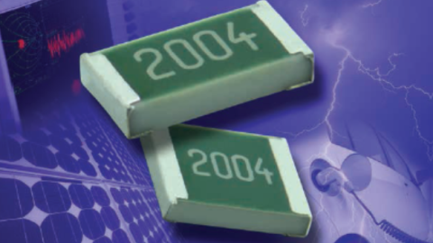 New TNPV e3 Series High-Voltage Thin Film Flat Chip Resistors Reduce Component Counts and Save Board Space