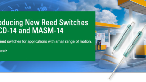 Hamlin introduces new Reed Switches MACD-14 and MASM-14