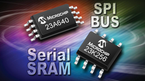 Microchip – Serial SRAM Memory Family