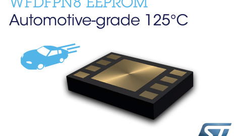 STMicroelectronics Unveils New Automotive Serial EEPROMs Offering Industry's Best Choice of Densities in Tiny 2x3mm Outline