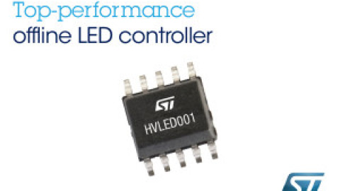 STMicroelectronics – HVLED001 Offline controller for LED lighting