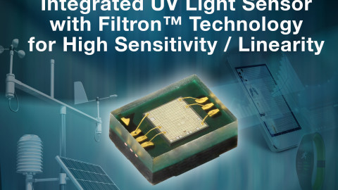 Vishay – VEML6070: UV Light Sensor with I²C Interface
