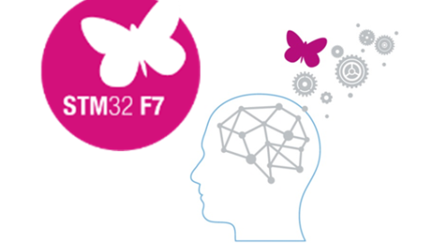 New CortexM7 microcontroller family STM32 F7