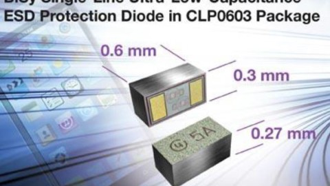 Vishay – New ESD Protection Diode Saves Board Space in Portable Electronics