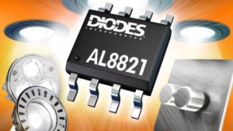 Diodes – AL8821 – High PF Boost Dimmable MR16 LED driver
