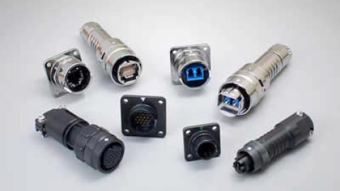 JAE – FO-BH Series, FO-BC Series, NT5 Series and JN2/W Series – Waterproof I/O Connectors for outdoor use