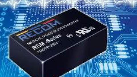 Recom – Medical-grade DC/DC Converters