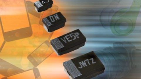 New TMCJ, TMCP, and TMCU Solid Tantalum SMD Molded Chip Capacitors