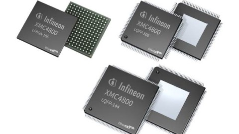 XMC4800 – the new Infineon ARM Cortex M4 series of 32-bit microcontrollers with EtherCAT