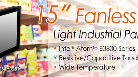 DFI – Intel Atom SoC based 15″ Light Industrial Panel PC