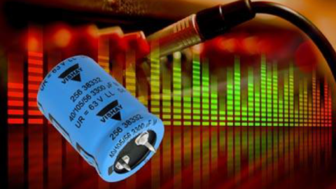 Vishay – New 256 PMG-SI Series of Snap-In Power Aluminum Capacitors