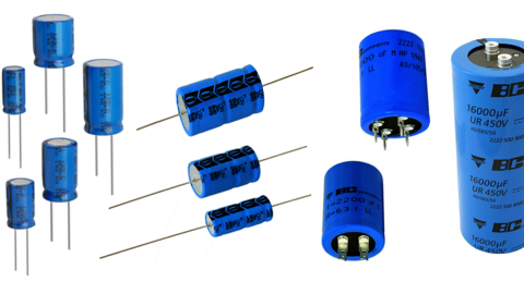 Vishay  Overviews Al Electrolytic Capacitors   SMD • Radial • Axial • SnapIn • Screw Terminal