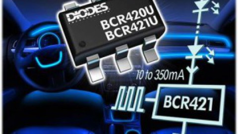 Diodes – new BCR42xU Linear LED Driver