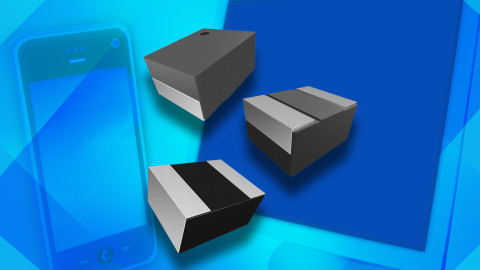 New IHHP Series of Low-Profile, High-Current Power Inductors Feature Powdered Metal Cores for High Saturation Currents to 5.8 A