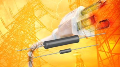Vishay CW…HE Axial Lead Wirewound Resistors Offer Reliable High-Energy Surge Protection to 106.5 J