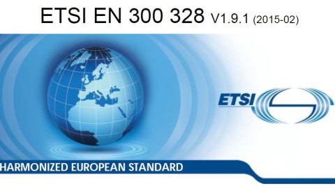 ETSI EN 300 328 V1.9.1   (Rules for 2,4GHz Applications)