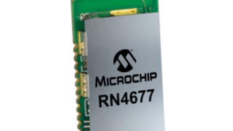 RN4677 – Bluetooth® 4.0 Dual Mode Module