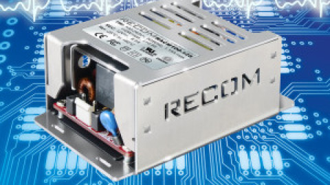 Recom – 100W & 150W Fanless Medical Power Supplies with 2 MOPP