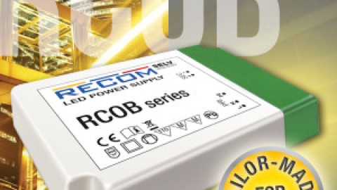 Recom – New LED driver series RCOB and RCOB-A