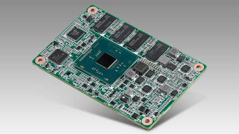 Low Power Fanless COM Express Mini Module from Advantech