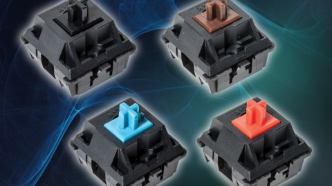 C&K Introduces High Reliability Keyboard Switches Rated for 50 Million Cycles