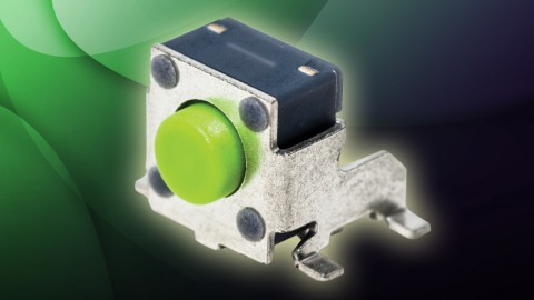 C&K Components Introduces 6mm SMT Side-Actuated Tactile Switches PTS645V