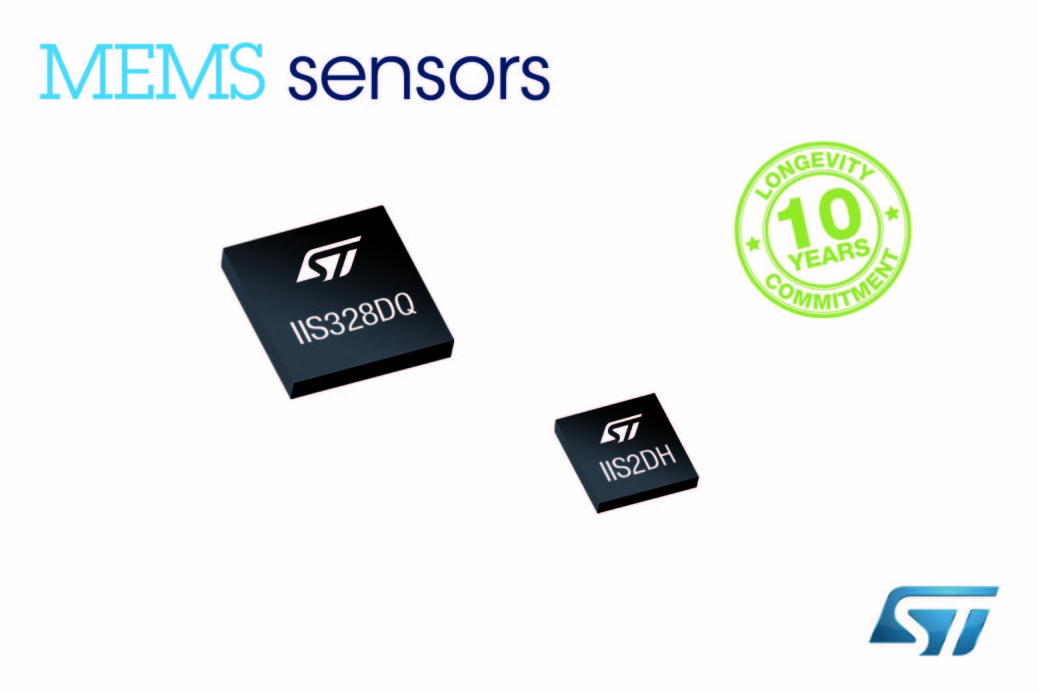 STMicroelectronics – Ultra-low power, 3-axis accelerometer with 10