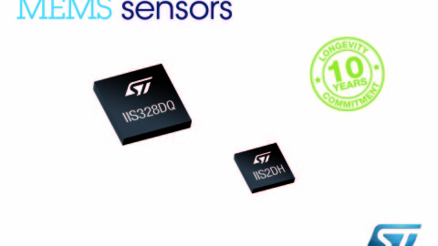 STMicroelectronics – Ultra-low power, 3-axis accelerometer with 10-years longevity for industrial applications