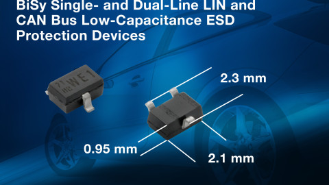 Vishay – New BiSy Single-Line Low-Capacitance ESD Protection Diodes Save Board Space