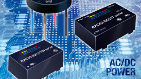 Recom – AC/DC power supplies for freezing temperatures