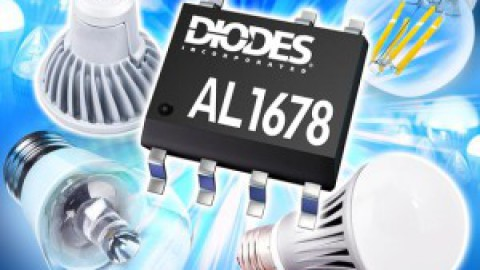 Diodes – AL1678 – High-Efficiency, Single-Winding Inductor 500V Buck LED Driver