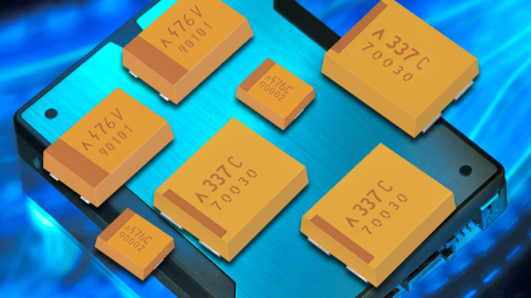 J-CAP Tantalum Polymer Capacitor Series with the Industry's Highest Energy Per Volume