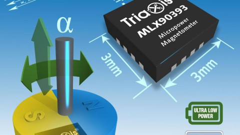 Melexis – MLX90393 Triaxis® Micropower Magnetometer