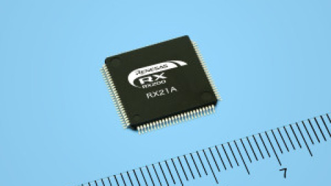 Renesas – 32-Bit RX21A Group of Microcontrollers with Large Memory Capacity and Built-In A/D Converter