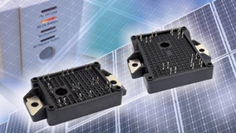 VISHAY – New IGBT Power Modules Offer Complete Integrated Solutions for Solar Inverters and UPS