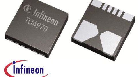 Infineon – TLI4970 Miniature Magnetic Digital Current Sensor