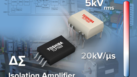Toshiba Launches High Accuracy Optical Coupling Analogue Isolation Amplifier Featuring Delta Sigma AD Converter