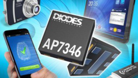 Diodes – AP7346 – Dual 130mA Low-Dropout Regulator