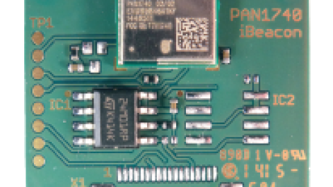 Bluetooth Low Energy PAN1740 Beacon