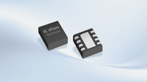 Infineon TLE7251V CAN-FD Transceiver with bus wake-up capability