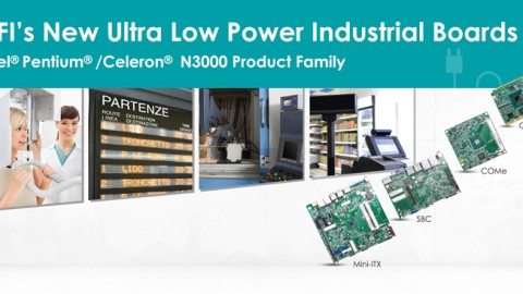 DFI – Ultra Low Power Industrial Boards