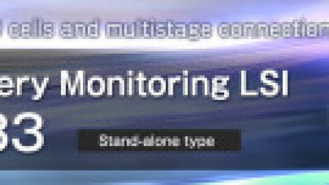 ROHM – ML5233 – New Li-Ion Battery Monitoring IC